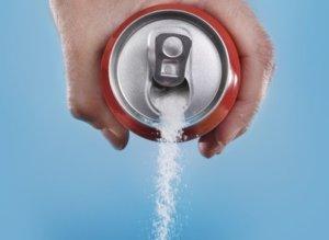 Zucker aus der Dose