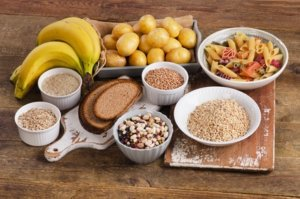 Stärkehaltige kohlenhydratreiche Lebensmittel
