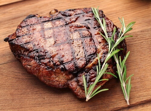 Fleisch mit viel Protein