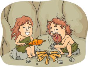 Steinzeitmenschen Essen